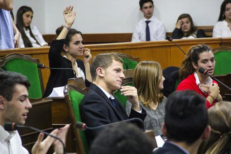 Jorge Macri participó de una nueva edición del Parlamento de la Juventud