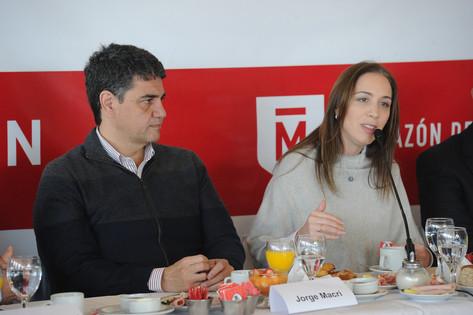 Jorge Macri participó del quinto Foro de Intendentes de Cambiemos en Morón