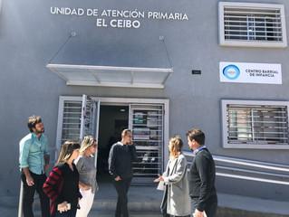 Recorrido de nuevas obras en #ElCeibo