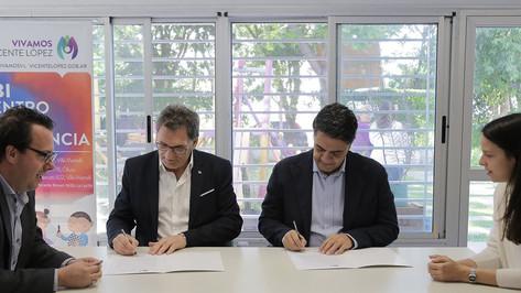 Vicente López firmo una carta de compromiso con la Secretaría de Derechos Humanos de la Nación