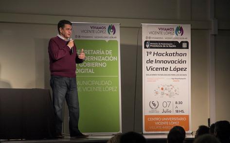 Se realizó el primer Hackaton Vicente López