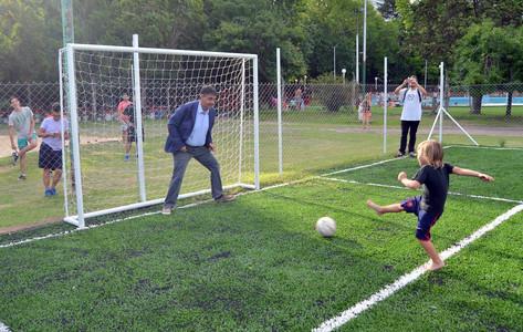 """Jorge Macri """"El deporte es educación, por eso hay que seguir apoyando a los clubes"""""""