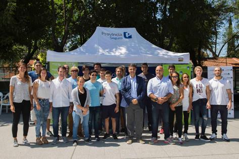 Jorge Macri entregó más de 30 becas deportivas del Grupo Provincia