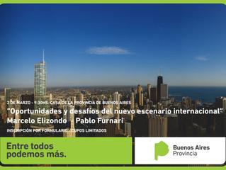 """02/03 - Seminario: """"Oportunidades y desafíos del nuevo escenario internacional"""""""