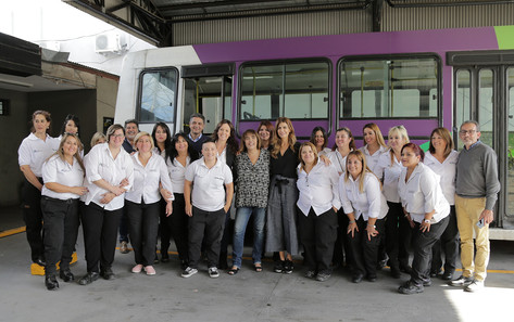 Transporte Bicentenario, un orgullo de Vicente López