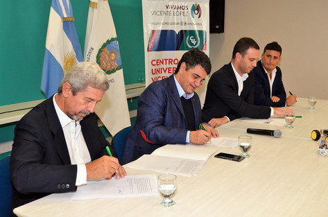 Jorge Macri firmó un convenio para crear un Centro de Innovación en Vicente López