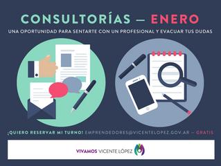 #Consultorías | Enero