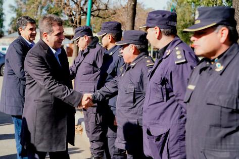 """Jorge Macri: """"La seguridad de nuestro municipio es un eje que tenemos como prioridad desde el primer"""