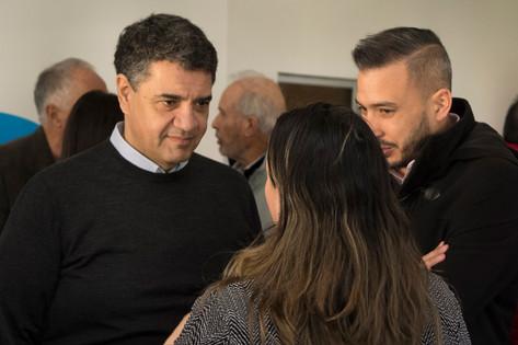"""Jorge Macri: """"Es una demostración más de que seguimos trabajando en conjunto con todos aquellos"""