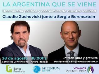 28/08 | #CONFERENCIA - La Argentina que se viene