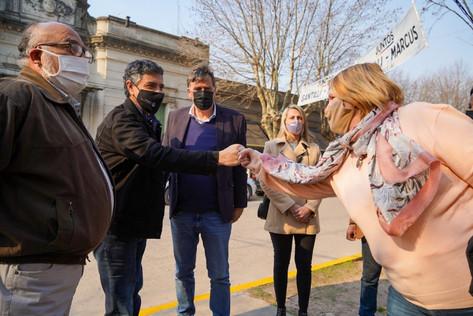Jorge Macri se reunió con productores rurales en Exaltación de la Cruz