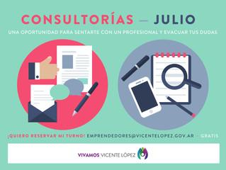 #Consultorías | JULIO