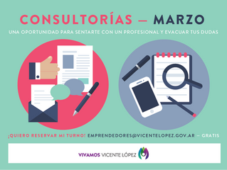 #Consultorías | MARZO