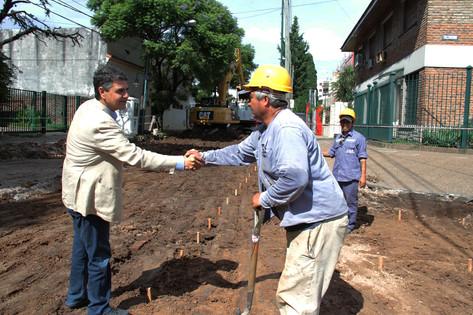 """Jorge Macri sobre obras en Paraná: """"Estos son adelantos que benefician directamente al vecino"""""""