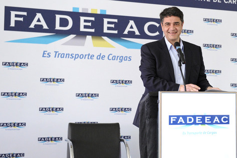 Jorge Macri estuvo presente en Expo transporte