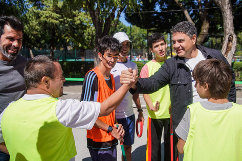 Jorge Macri visitó la colonia de vacaciones inclusiva municipal