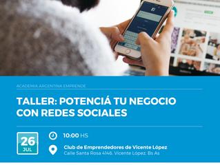 #Taller -  Potenciá tu negocio con redes sociales