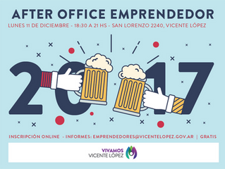 11/12 - ¡Último After Office Emprendedor del año!