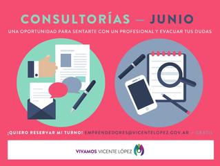 #Consultorías   JUNIO