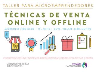 3/05   Técnicas de Venta Online y Offline #Microemprendedores