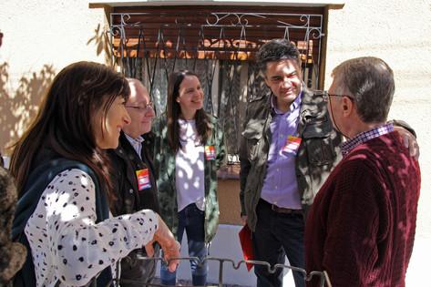 Soledad Martínez y Jorge Macri recorrieron Olivos en un nuevo Timbre Nacional