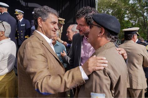 """Jorge Macri: """"Somos una generación que tiene la responsabilidad y el orgullo de poder convivir con h"""