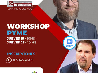 16/07 | WORKSHOP PYME con Claudio Zuchovicki