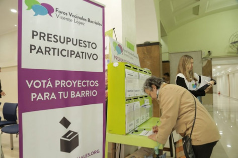 Dieron a conocer los proyectos elegidos en los Foros Vecinales Barriales 2018
