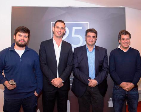 Jorge Macri estuvo presente en la celebración de los 25 años de Microsoft Argentina