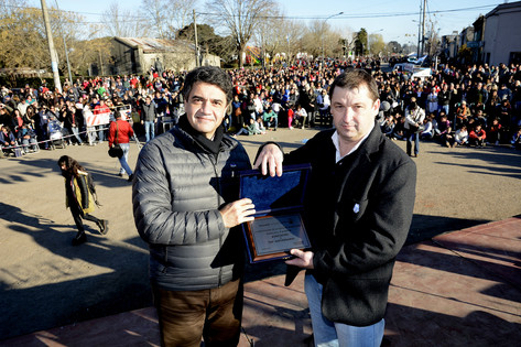 Jorge Macri participó del festejo por los 150 años de Ayacucho