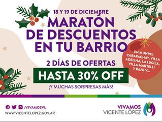 MARATÓN DE DESCUENTOS #compraentubarrio