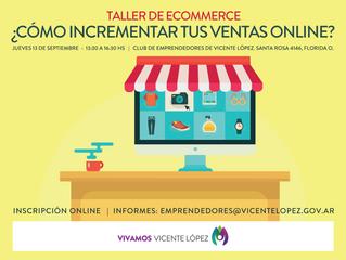 #Taller - ¿Cómo incrementar tus ventas online?