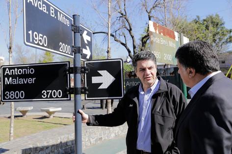 Jorge Macri anunció la puesta en valor de los nomencladores en todo Vicente López