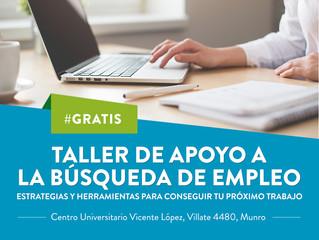#Taller - Apoyo a la búsqueda de Empleo