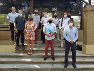 """10/03 - 4º Encuentro: Sector """"Materiales e insumos para la construcción"""" de Vicente López"""