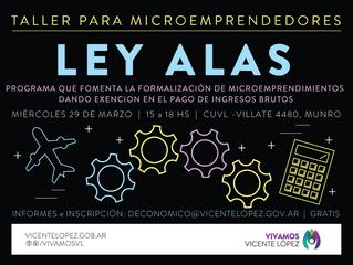 29/03 | LEY ALAS #microemprendedores
