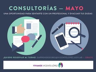 #Consultorías   MAYO