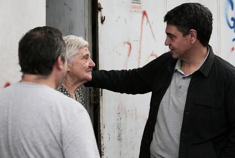 Jorge Macri y Soledad Martínez encabezaron el timbreo en Munro