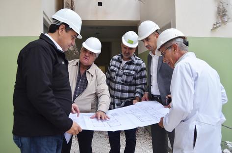 Jorge Macri recorrió el avance de las obras en la Maternidad Santa Rosa