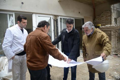 Jorge Macri recorrió el avance de obras del geriátrico municipal