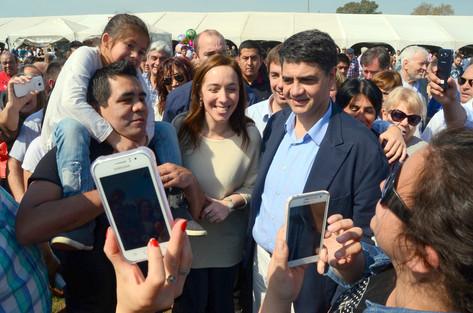 Jorge Macri junto a Vidal en Mercedes