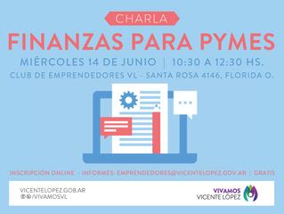 14/06  |  Charla de Finanzas para Pymes