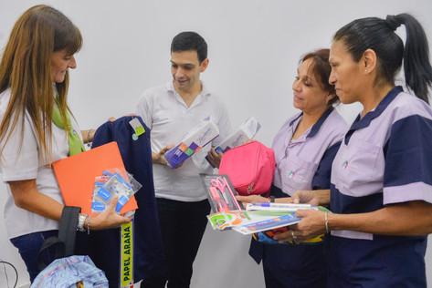 Casi dos mil empleados municipales se beneficiarán con una ayuda escolar por hijo