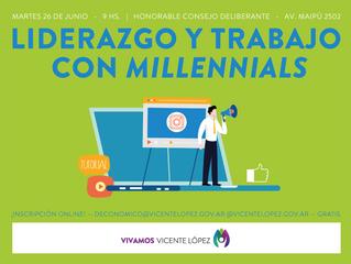 26/06 | Liderazgo y trabajo con millennials