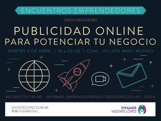 04/04 | Publicidad Online para potenciar tu negocio #EncuentroEmprendedor