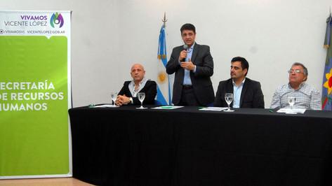 Jorge Macri participó de la apertura de las paritarias