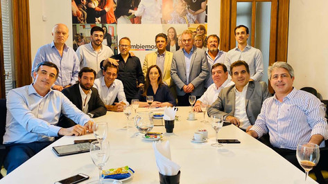 Reunión de la mesa política del PRO