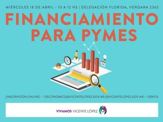 18/04 | Financiamiento para PyMES