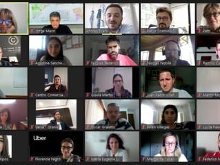 Reunión de Empresas y Sector de Salud