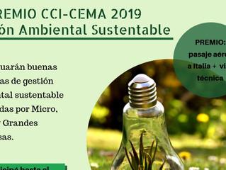 PREMIO CCI-CEMA 2019